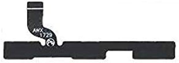 Shinzo Power On/Off Volume up/Down Key Button Switch Flex Cable Compatible for Motorola Moto E4 Plus-(Black)