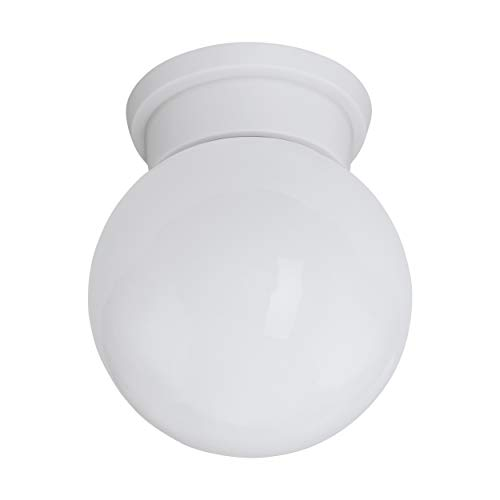 EGLO 94973 A++ to E, lámpara de techo, E27, blanco, 16 x 16 x 19,5 cm