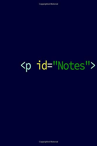 id=Notes : Javascript Notebook for JS Developer Engineer Coder Gift for HTML Java Script Development Notebook: Lined Journal For Js Html Css Developers - 120 pages lined Notebook - 6 * 9