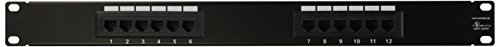Monoprice Cat5 Enhanced Patch Panel 110Type 24 port (568A/B Compatible)