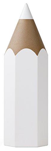QUALY Pot Gigante de lápices, Color Blanco