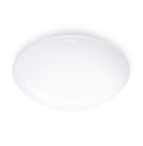 Steinel LED Innenleuchte RS 160 LED, Opal-Glas, 9.5 W Deckenleuchte, 1000 lm, 360° Sensor, Dauerlicht, Vernetzbar, Weiß, Groß