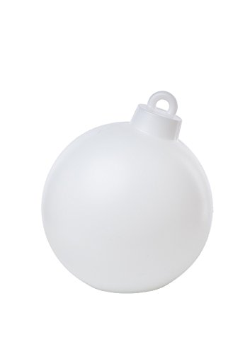 8Seasons 32374s Lampe d'extérieur, intégré, blanc, H 37 cm