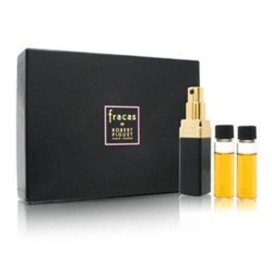 後方にダッシュ憂慮すべきFracas (フラカス) 2 x 0.25 oz (7.5ml) Parfum Purser Refills by Robert Piguet for Women 限定品!