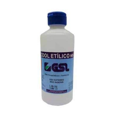 Alcohol Sanitario GSL 96º 250 ml