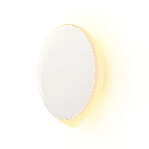 KORONA Luce Notturna Ricaricabile LED con Sensore di Movimento, USB-C Ricarica, Illuminazione Luminosità Regolabile con Striscia Magnetica Adesiva per Bagno, Cucina, Armadio, Corridoio, Scale