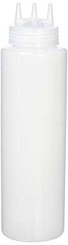 Vogue Cw726 Squeeze Bouteille clair, Buse de 3, 36 g