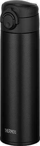 【食洗機対応モデル】サーモス 水筒 真空断熱ケータイマグ ワンタッチオープンタイプ 0.5L ブラック JOK-500 BK