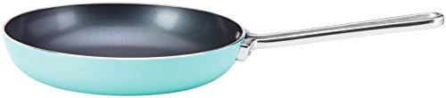 KSNY All in Good Taste Frypan Set, 8 and 10 Inch, Turq/Aqua