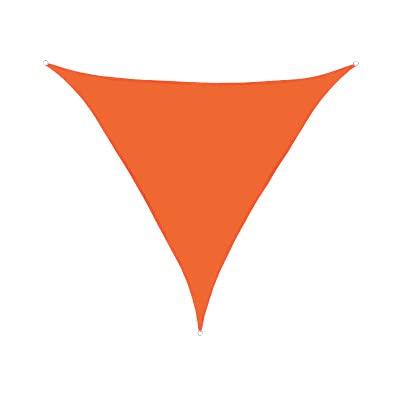FHJL Sombrilla de sombrilla2.4x2.4x2.4m Triangular ARC Lado Sombrilla de sombrilla Impermeable y Anti-Sat Anti-Ultraviolet Patio Patio Piscina Piscina Sombrilla Al Aire L Orange