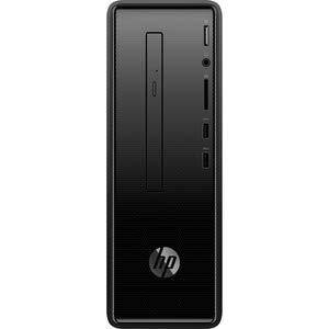 HP Slimline 290-A0007NA Mini Torre Negra PC AMD A6-9225 hasta 3 GHz, DDR4 de 8 GB, SSD de 256 GB, Wireless 11ac y Bluetooth 4.2, DVD RW, Windows 10 Pro