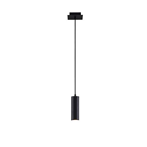 Lámpara colgante 'Joffrey' (Moderno) en Negro hecho de Metal e.o. para Salón & Comedor (1 llama, GU10, A++) de Lindby | lámpara colgante, lámpara colgante, lámpara, lámpara de techo, lámpara de techo