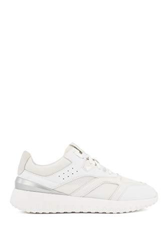 BOSS Damen Allen-Nmix Sneakers aus Material-Mix mit Schnürung Größe 41