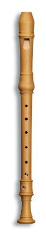 Mollenhauer 5206 Denner Alt-Blockflöte Birnbaum hell Natur-Holz Barock Doppelloch