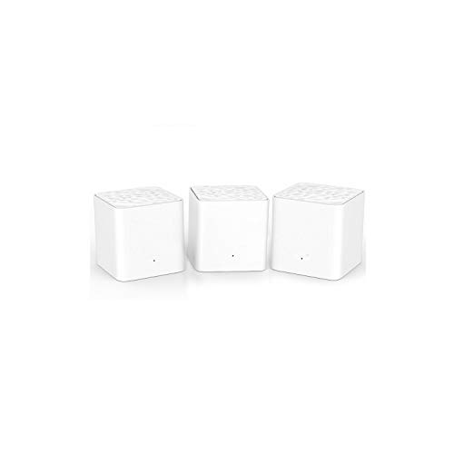 Wireless Routers Nova Mw3 Ac1200 Dual-Band Wireless Router for Whole Home WiFi Coverage Mesh WiFi System Wireless Bridge, App Remote Manage,1 Piece