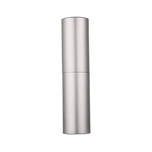 XYBB Vaporisateur Parfum Rotatif De Bouteilles De Pulvérisation 5ml Argent