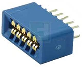SULLINS EBC05DRXN 10 Position ( 2 x 5 ) 2.54 mm Center Dip Solder Dual Readout Edge Connector - 5 item(s)