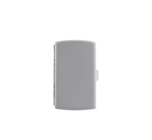 Portasigarette in metallo con rivestito in gomma colorata Porta HEETS e Sigarette Classiche (Siver)