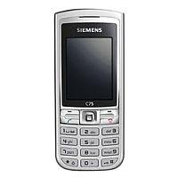Siemens C75 light silver Handy