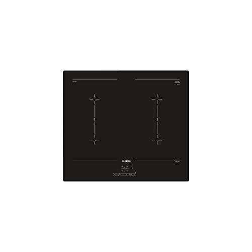 Bosch PVQ611BB5E Piano Cottura a Induzione 4 Zone di Cottura da 60 cm, Nero