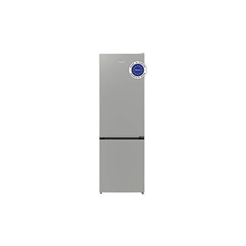 HISENSE RB418D4AD2 - Niedriger K�hl- / Gefrierschrank - 326 l (229 l + 97 l) - ger�hrt und statisch kalt - 158 x 60 x 64 cm - A ++ - Metallgrau