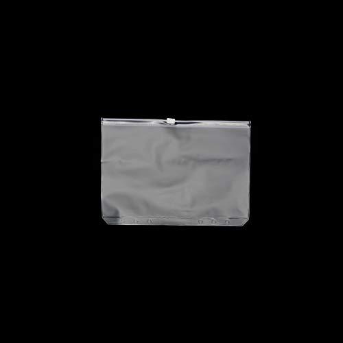 RAYNAG リフィル用 透明ポケット クリアポケット 6穴 ファイルバッグ ルーズリーフノート用 収納ケース 整理 A7 5枚