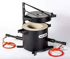 FB3H Forno di fusione a gas propano per metalli | peso di fusione 20kg | con 2 bruciatori DFC (180,000...