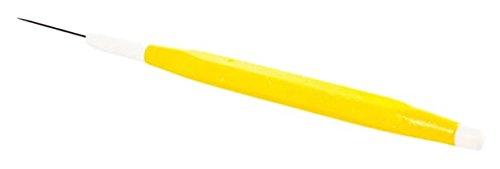 PME dikke tanden, modelleergereedschap, kunststof, geel, 15 x 1 x 1 cm