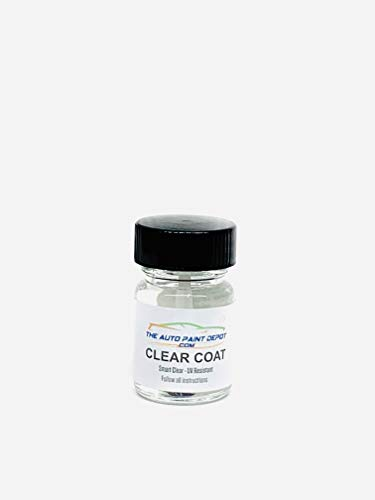 Auto Paint Depot Touch Up Paint Clear Coat (½ oz Clear Coat)