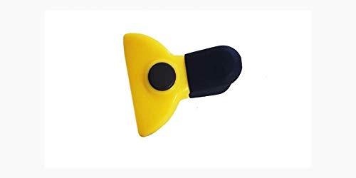 Kasahome 2 Klammern Clip Magnet Beutelverschluss Beutelklammer Magnetische Küche