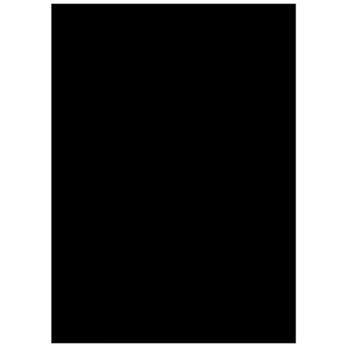 """EASEHOME Vinilo Ventana Autoadhesiva Pegatina de Ventana Cristal Película Decorativa Papel Adhesivo Láminas Electrostatica Film Estática Opaco 17.3\""""x78.7\""""(44x200cm), Negro"""