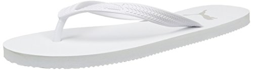 PUMA Unisex-Erwachsene First Flip Zehentrenner, Weiß (White-Gray Violet), 35.5 EU