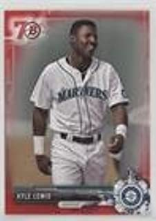 Kyle Lewis (Baseball Card) 2017 Bowman - Prospects - Red 70th Anniversary #BP125