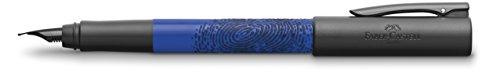 Faber-Castell WRITink - Pluma estilográfica de resina, trazo F, color azul