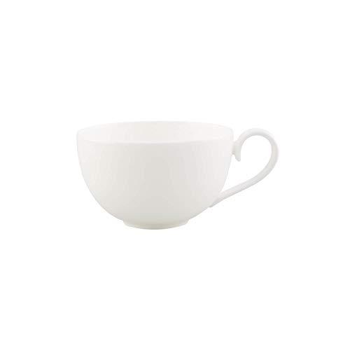 Villeroy und Boch Royal Café au Lait-Tasse XL, 500 ml, Premium Bone Porzellan, Weiß