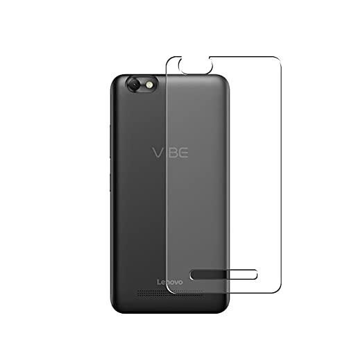 Vaxson 2 Stück Rückseite Schutzfolie, kompatibel mit Lenovo VIBE C, Backcover Skin TPU Folie Haut [nicht Panzerglas Bildschirmschutzfolie Hülle Hülle ]