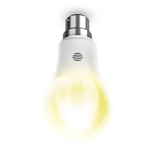 Hive Lights Dimmable B22 Bayonet Smart Bulb, Works with Amazon Alexa, 9 W