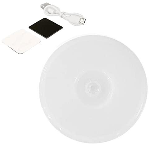 Recargable de Escalera lámpara de luz Blanca LED luz de la Noche Cubierta del USB del Sensor de Movimiento del gabinete del LED para el hogar al Aire Libre