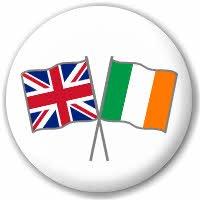 mächtig der welt Großbritannien und Irland Mad About Flags Badge, Freundschaft, 25mm