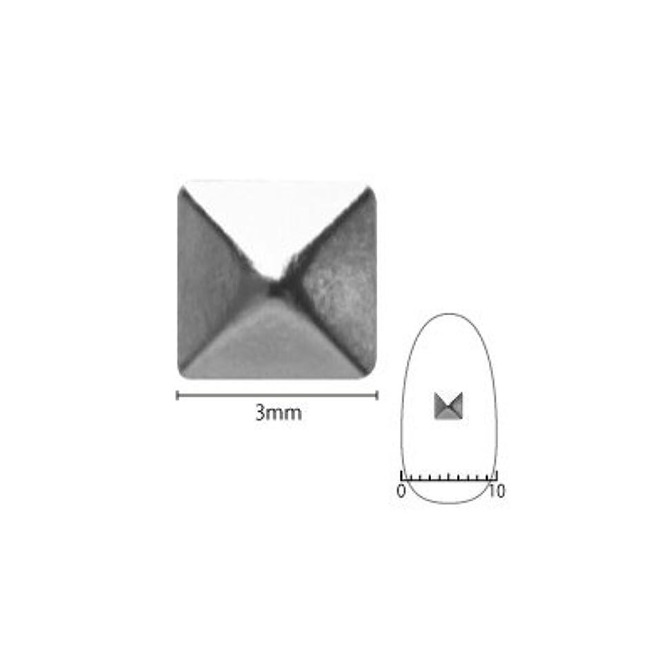慢なお手入れ骨の折れるネイルスタッズ ピアドラ pieadra スタッズ ピラミッド 3mm 50P シルバー