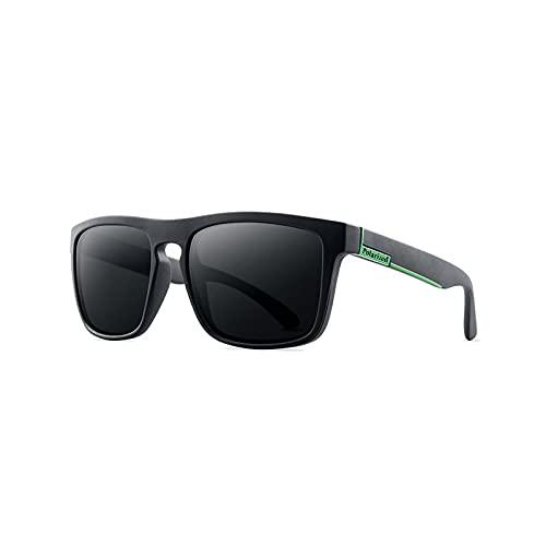 yui Gafas de sol polarizadas para hombres y mujeres, gafas de sol clásicas para conducir, gafas deportivas de moda, para hombre, diseño de gafas de bloqueo de sol (lentes de color: 731 c1)