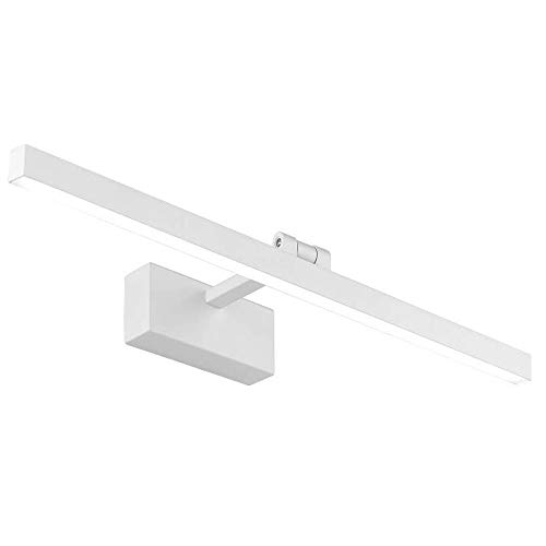 Lámpara de Espejo Baño LED 12W 50cm 960LM Luz Blanca 6000K LED Armario Lámpara Luz de Pared IP44 Aplique de Baño