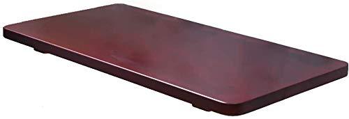 MY1MEY Mesa Plegable Piso Plegable Comedor Almuerzo Espacio Económico Computadora Escritorio Transformable, Rojo-Marrón (Dimensiones: 80 × 30cm)