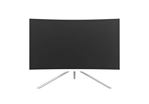 Denver Electronics MLC-2702G 27 Full HD LED Curva Blanco Pantalla para PC - Monitor (68,6 cm (27), 1920 x 1080 Pixeles, Full HD, LED, 6 ms, Blanco)
