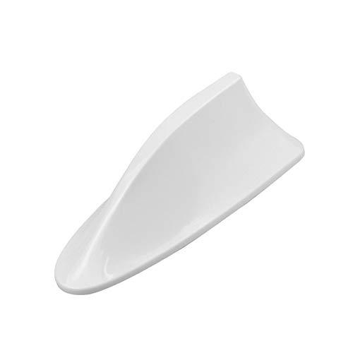 Coche de aleta de tiburón antena de repuesto for Peugeot 207 301 307 206 308 407 408 508 2008 3008 4008 (Color : White)