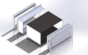 """Smart Vent Trim & Sleeve Kit 1540-531-12, Adjustable 7"""" - 12.5"""""""