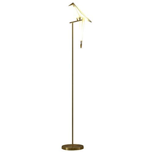 GLXLSBZ Lámpara de Mesa de Arte Lámpara de pie de Estudio de Sala de Estar Lámpara de pie de acrílico de mil pájaros de grúa de Papel