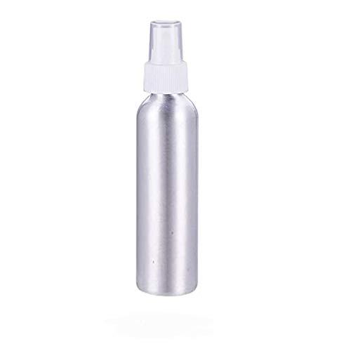 Cnqstar Nachfüllbare Aluminiumflaschen Sprühflaschen Kleine Metallzerstäuberflaschen Kosmetikbehälter Reiseflaschen,Weiß,250ml