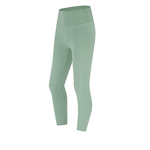 WENHUA Leggings No Transparenta Mallas para Yoga Running, Pantalones Ajustados elásticos de Cintura Alta, A_XL, Alta Cintura Elásticos Transpirables Pantalones