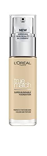 L'Oréal Paris True Match Liquid Foundation 1.W Golden Ivory